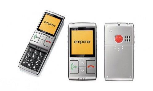 c466cac93429ad Oczywiście nadal jest to idealny telefon dla seniora. Jego najważniejszy  element to czerwony przycisk umiejscowiony na tyle obudowy.