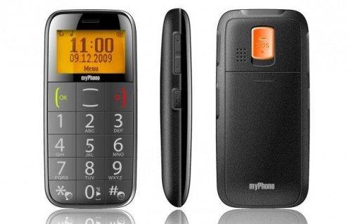 835979648b3405 Telefony dedykowane ludziom starszym nie grzeszą urodą — w końcu przecież  nie o wygląd tu chodzi. myPhone 1070 jest jednak wyjątkiem.