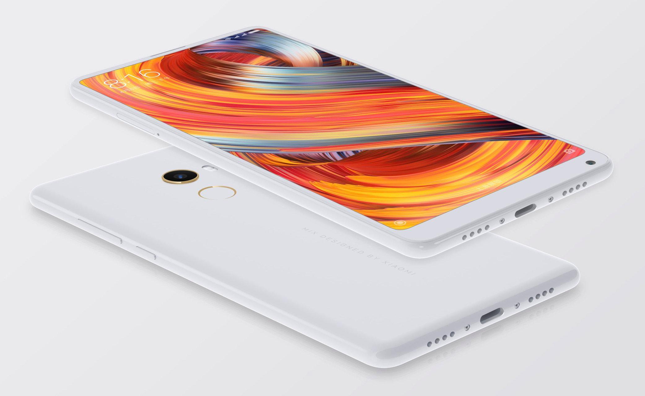 Xiaomi Mi MIX 2 Special Edition dostępny będzie w czarnej i białej wersji kolorystycznej Podstawowy model tylko w czarnej